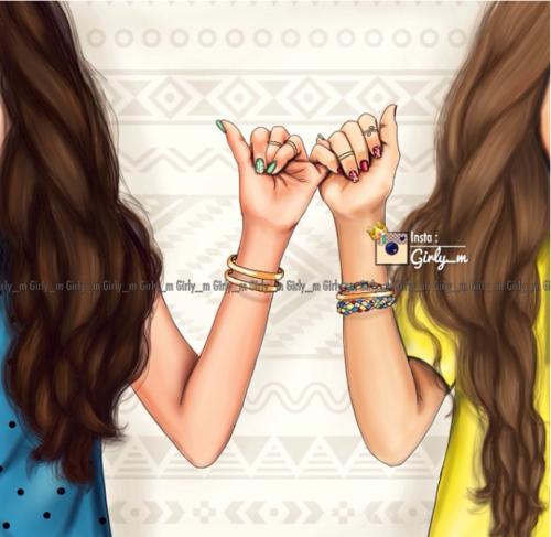 Friends Girly M And Best Friends Image Melhores Amigas Para