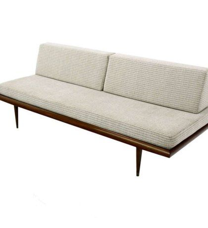 Retro Danish Modern Daybed Sofa Vintage Mid Century Couch Day Bed Nr Sets For