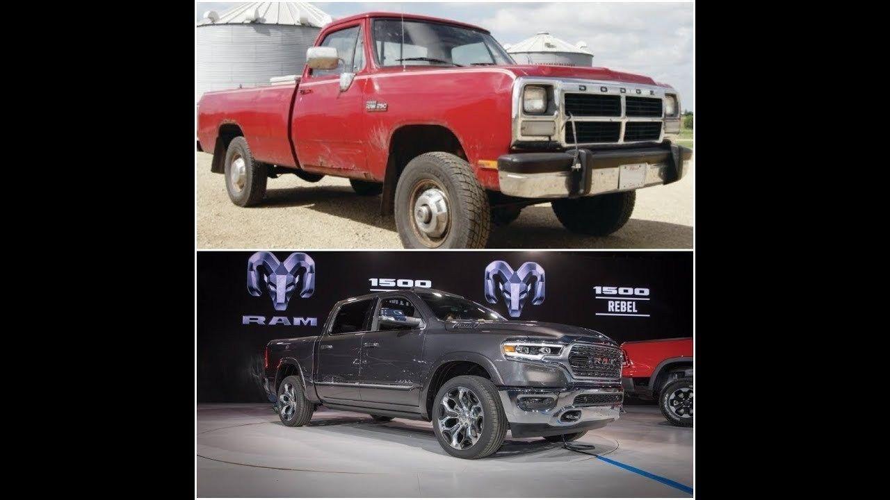 Dodge Ram Trucks Evolution 1921 2019 From 61088 Winnebago Il With Images Dodge Ram Dodge Trucks Ram Ram Trucks