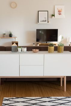 Wie du große Räume gemütlich einrichten kannst | Wohnzimmer ...
