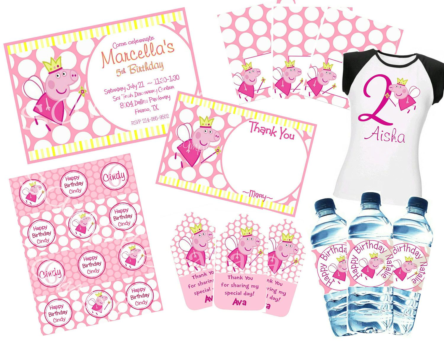 PEPPA Pig Printable Party PACKAGE by owlalwaysloveuprints, $20.00 ...