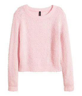 Soft pink sweater.  HMPastels  426f05d2f