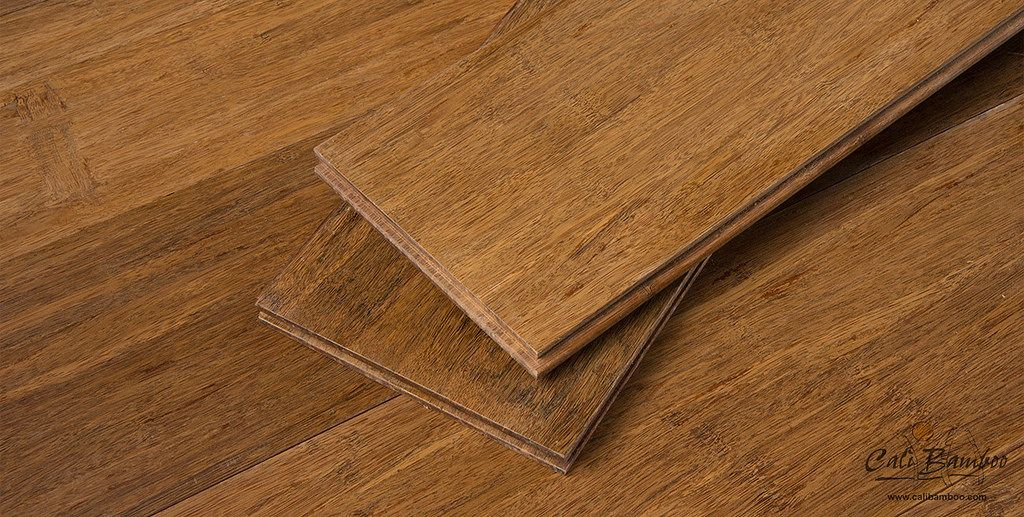 Java Wide Plank Bamboo Flooring Sample Unfinished