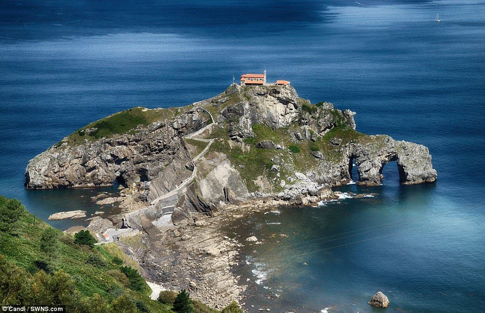 The Real Dragonstone Ancient Spanish Islet Used By Game Of Thrones Spain And Portugal Northern Spain Basque Country