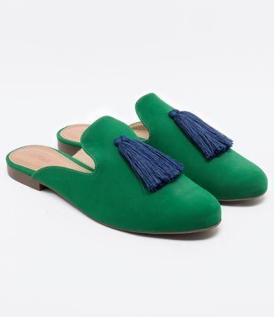 8f47c9eba5 Mule Feminina Nobuck Tássel Satinato - Renner  mule  sapatosfemininos