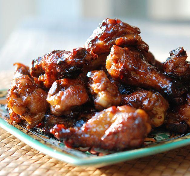 One Pot Sticky Chicken Wings Recipe Sticky Chicken