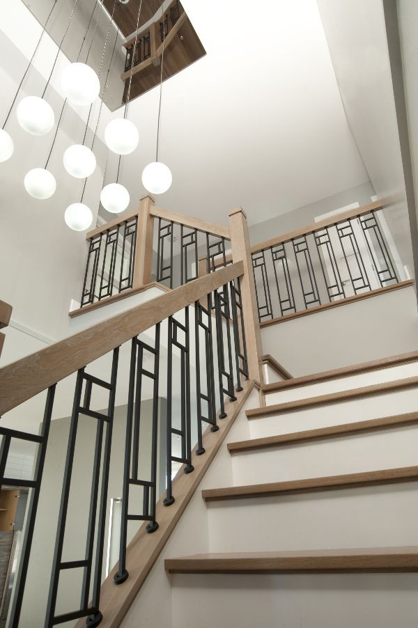Best Pin By Meghen Caissie On Stairs Stair Railing Design 640 x 480
