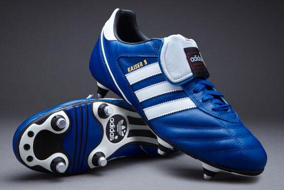 adidas Football Boots - adidas Kaiser 5 Cup SG - Soft Ground - Collegiate  Royal/