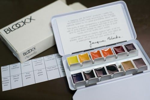 Review Blockx 12 Half Pan Watercolor Set Parka Blogs