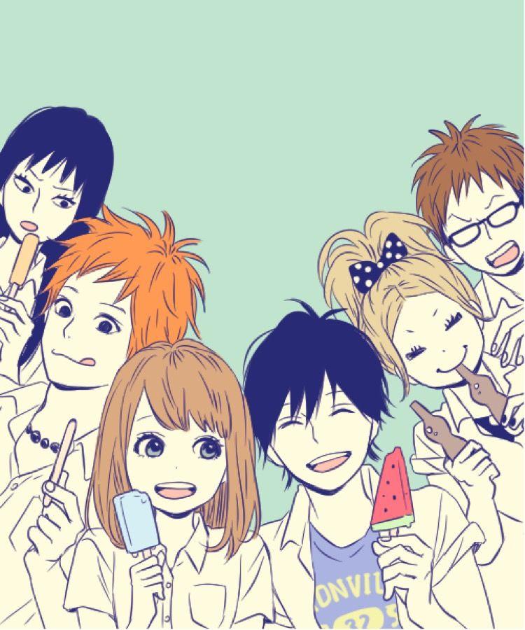 Pin By すい 翠 On 高野 苺 Anime Orange Blue Springs Ride Orange Book