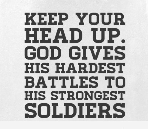 Gods Quotes About Strength Magnificent Keep Up The Hard Work Instead Of Keep Your Head Up For The Good