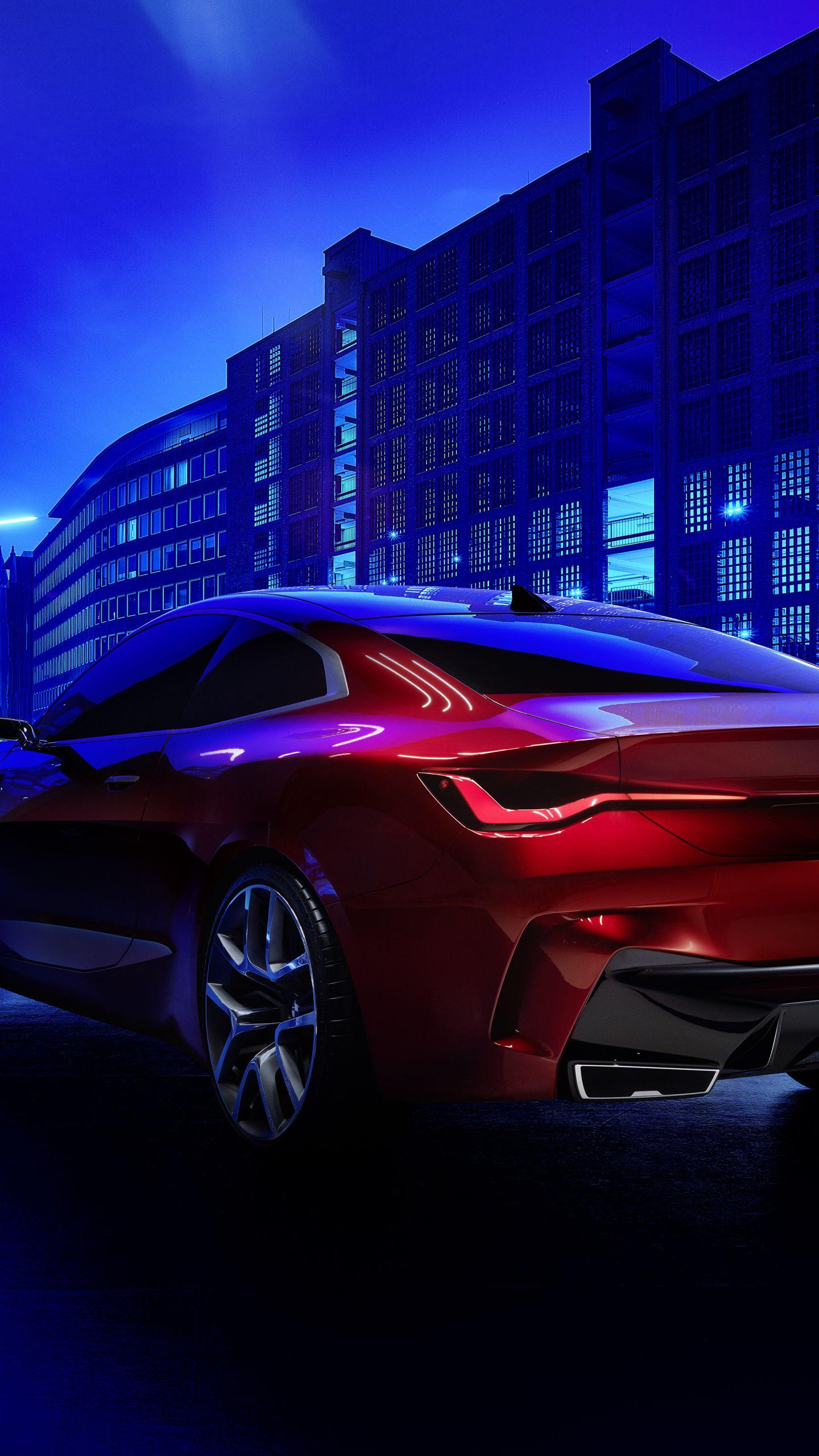 1440x2560 Stunning Car Bmw Concept 4 Rear View Wallpaper Bmw Concept Bmw View Wallpaper
