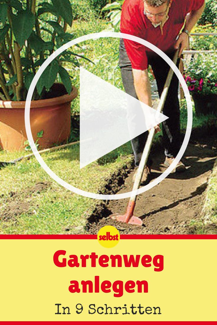 Gartenweg Anlegen Selbst De Gartenweg Gartenwege Anlegen Garten