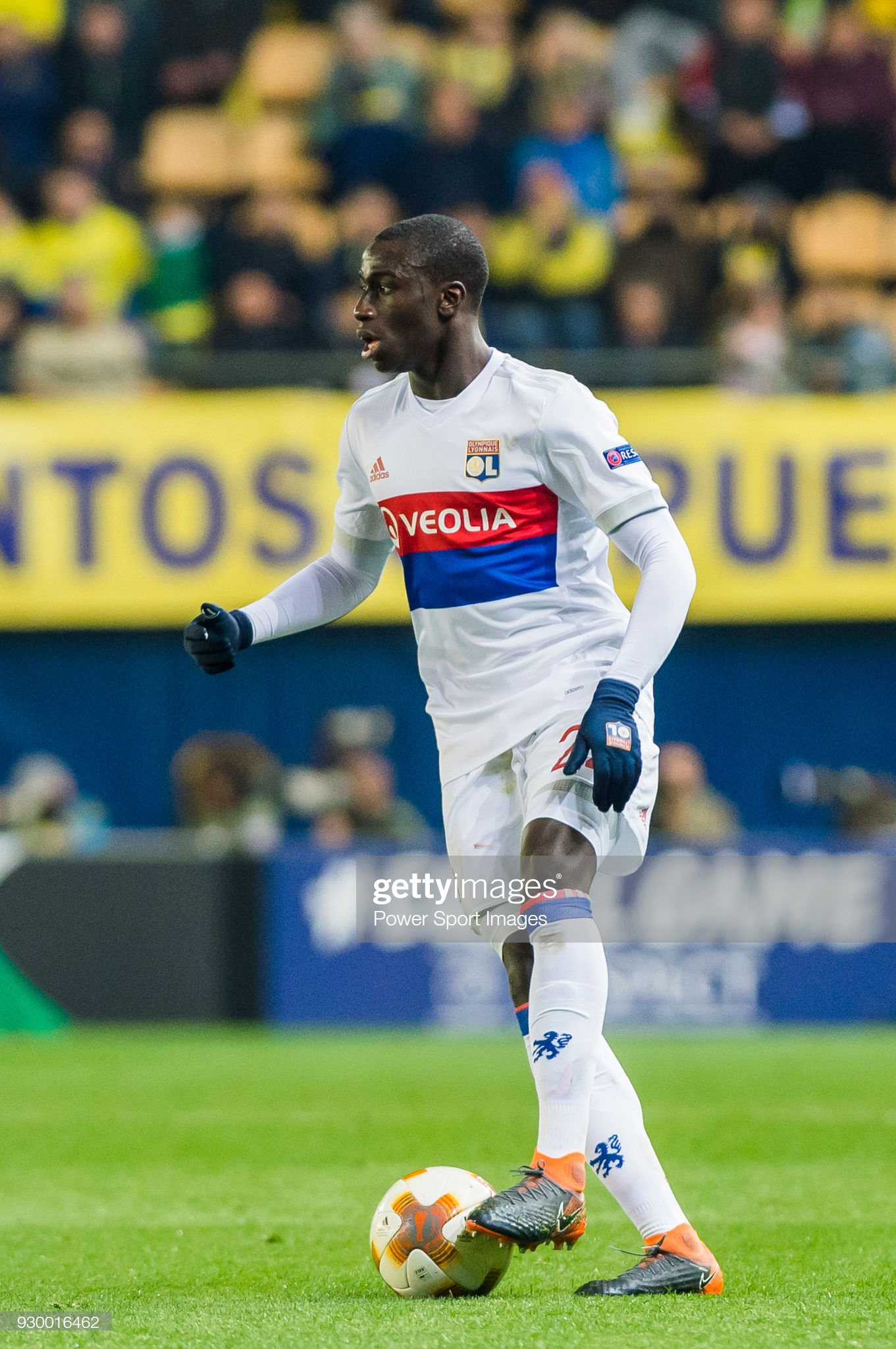 News Photo Ferland Mendy Of Olympique Lyon In Action During Sports Images Lyon Villarreal Cf
