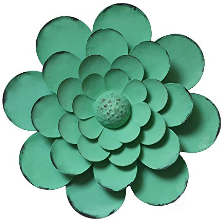 Irish green flower wall art decor for indoor or outdoor wall dÃcor