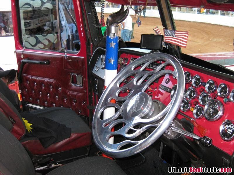 Custom Additions Include An Extended Bull Horn Shifter