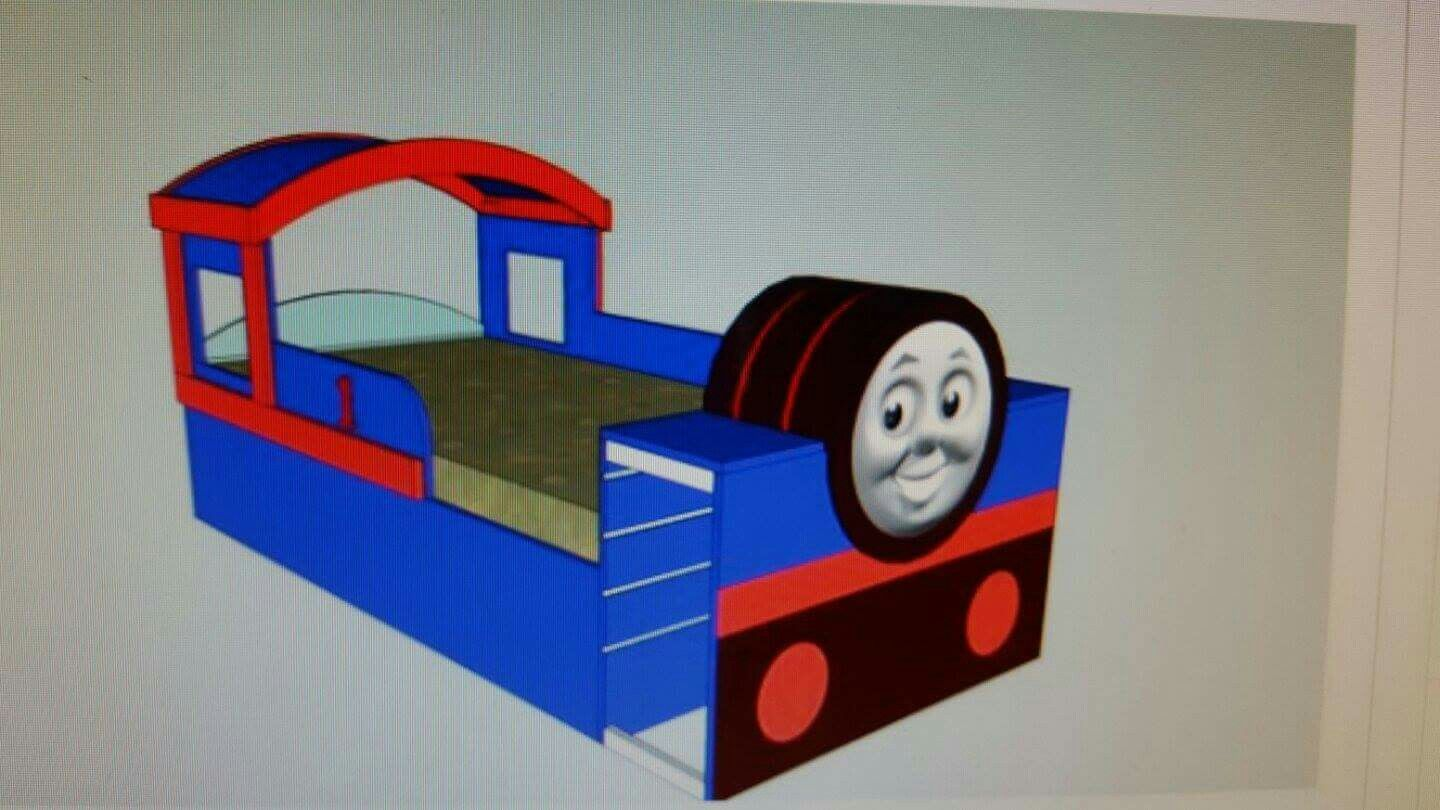 Explore Train Room, Train Bed And More!