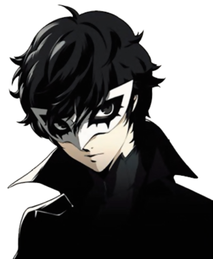 The Protagonist Mask On And Persona Showing Persona 5 Joker Persona 5 Persona Five