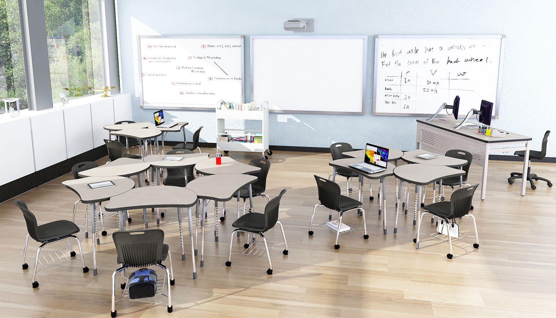 virco molecule student desks