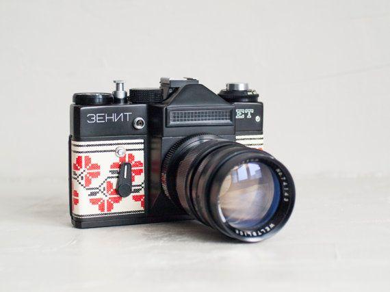 Zenit Et Vintage Functional Russian Slr Camera For Lomography