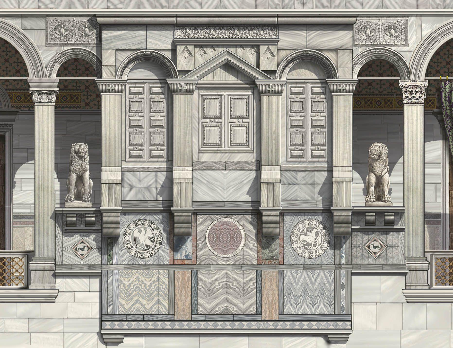 Byzance architecture cat gorie annexe work sur antoine for Architecture byzantine