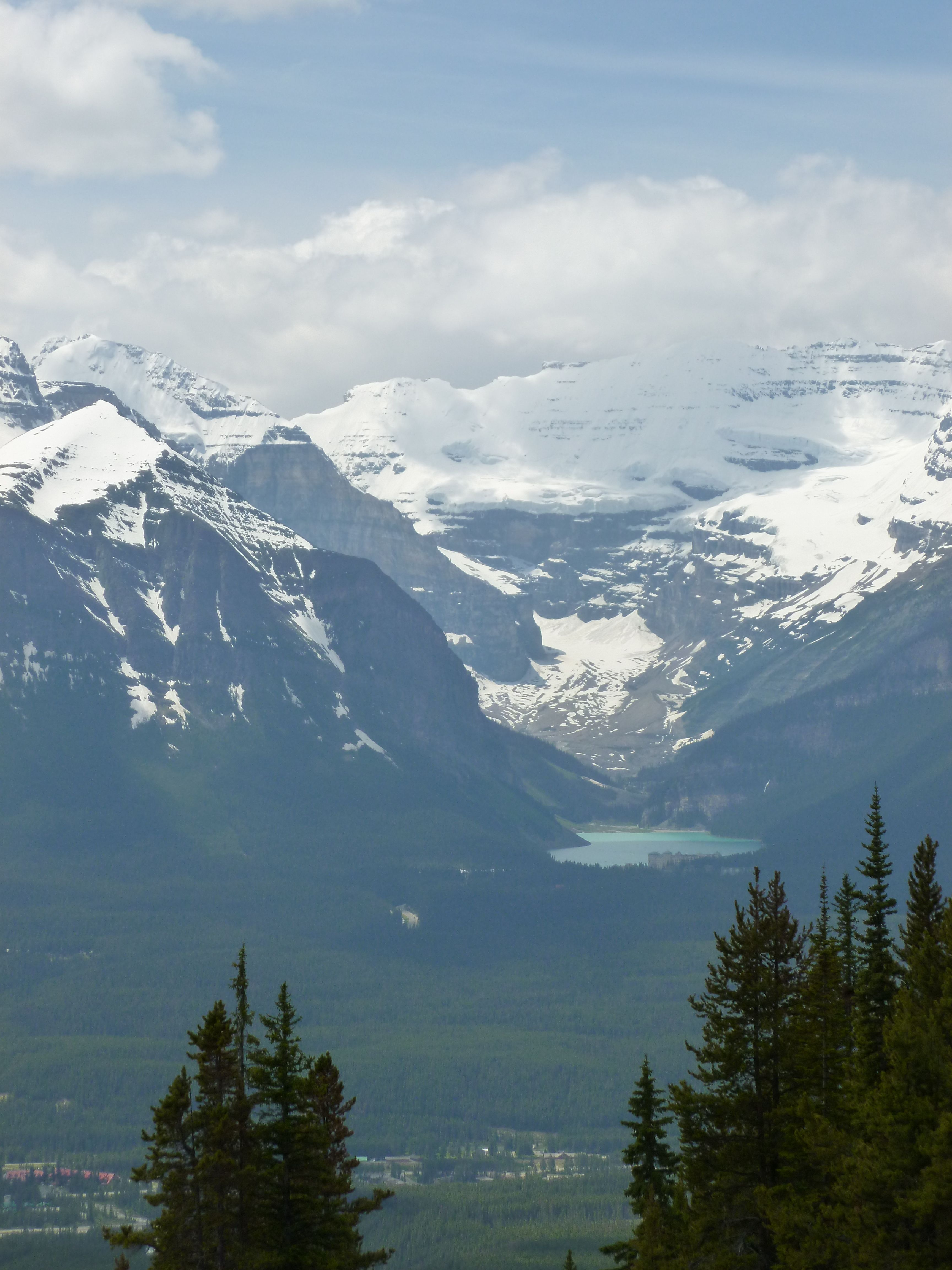 Lake Louise Canada from atop Mt. Whitehorn3