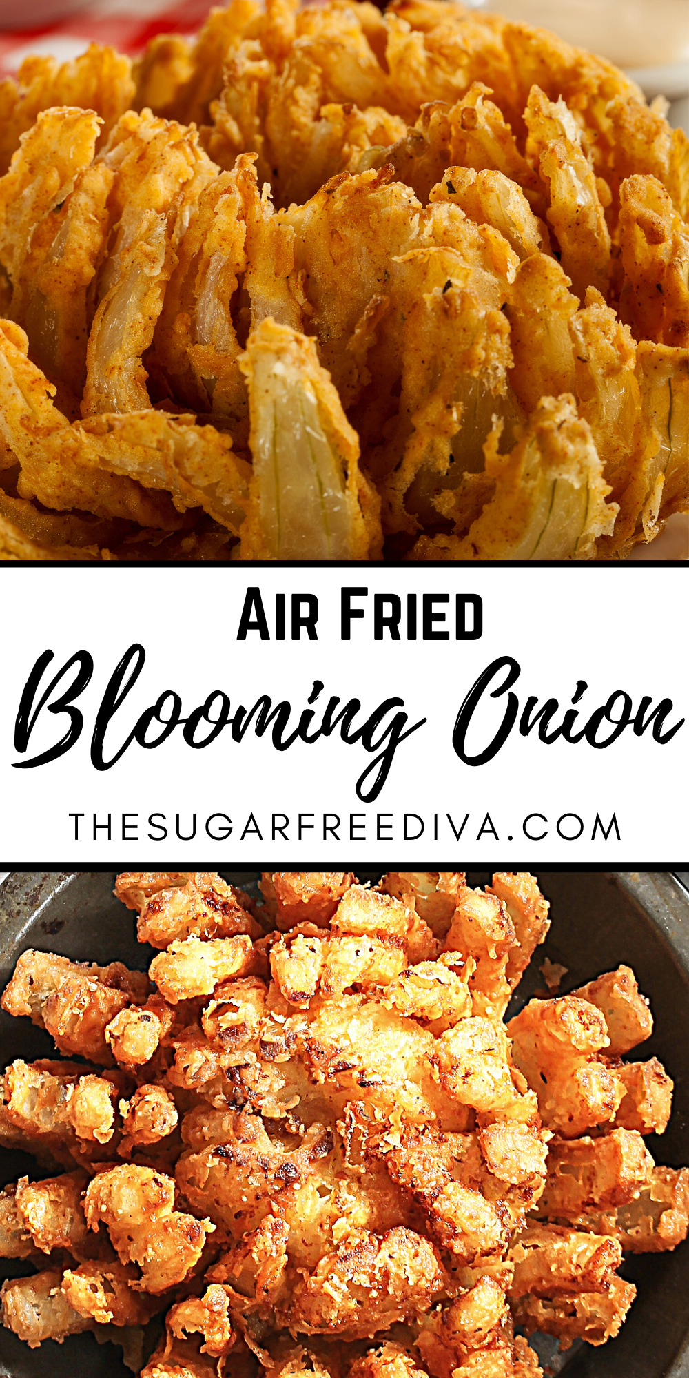 Air Fried Blooming Onion that Tastes Great!