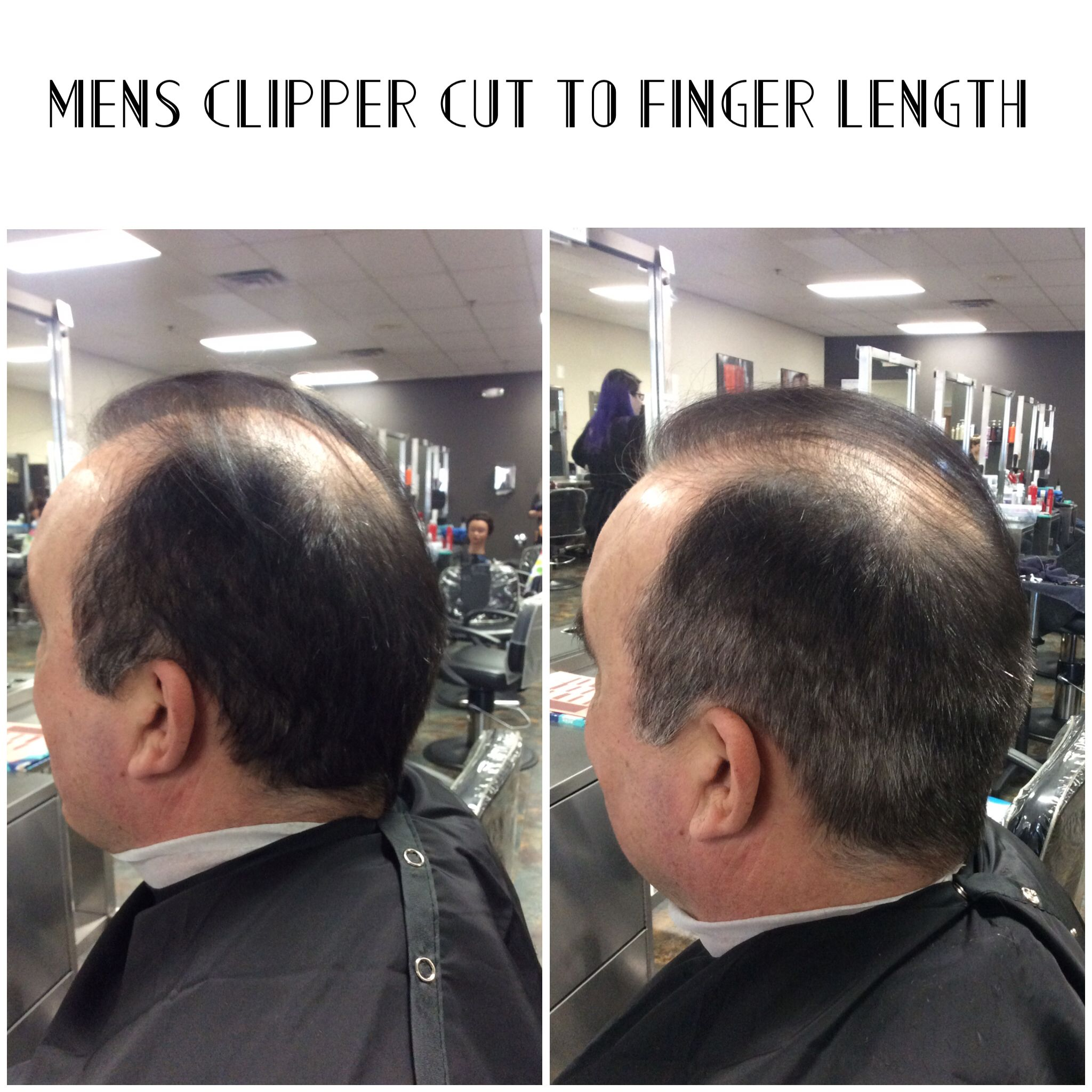 Mens Clipper Cut 3 To 4 Guard To Finger Length On Top Crewpomade
