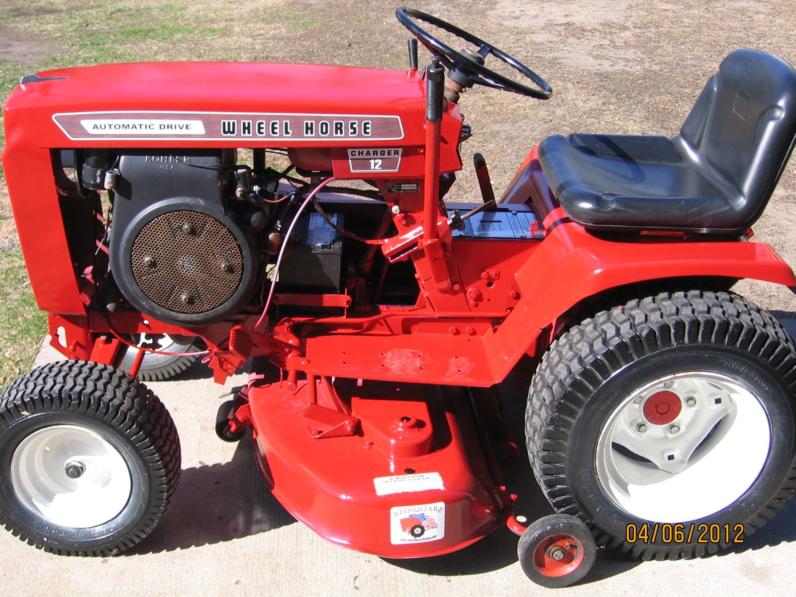 Wheel Horse Tractor Engines : Wheel horse lawn tractor parts bing images