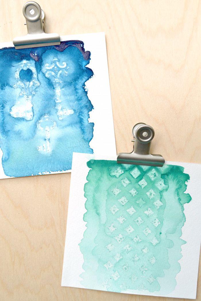 Art Crafts Watercoloring Retro