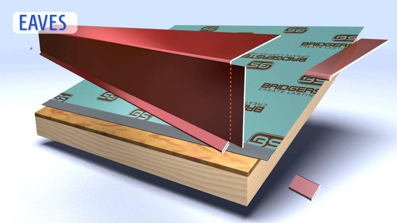 How to install eave fascia metal roofing trim metal