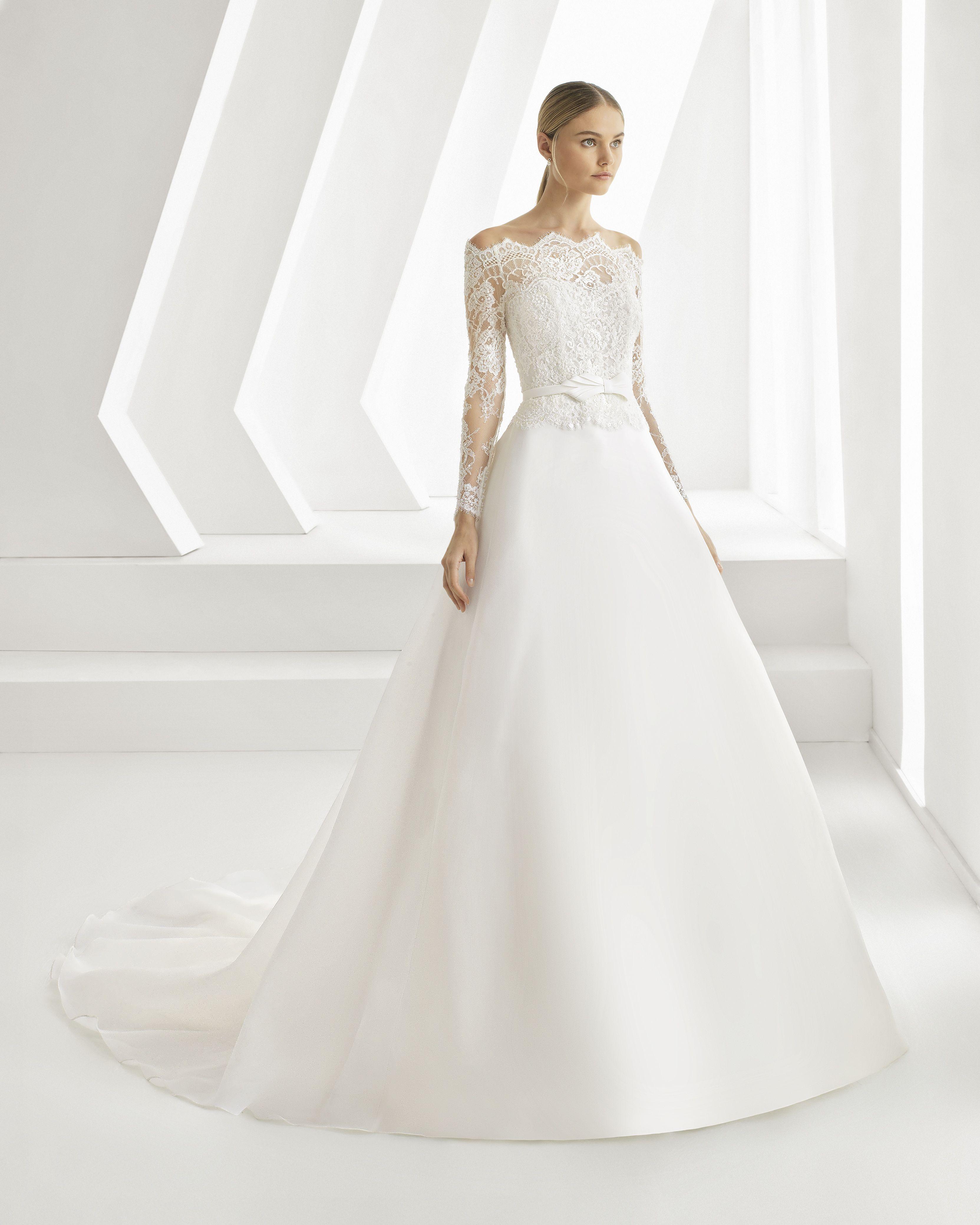 klassieke bruidsjurk