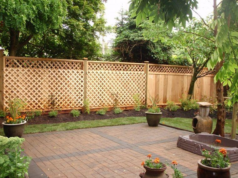 Decorazioni In Legno Per Giardino : Separe da giardino legno decori rombi giardino nel