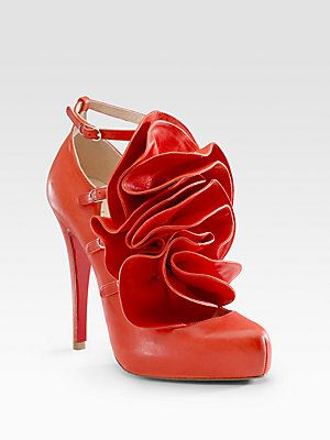 07fb540276a Christian Louboutin Dillian Flower Pumps. Featured in Britney's