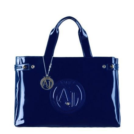 85add24e327 Sac Armani Jeans Vernice Moyen   Bleu marine