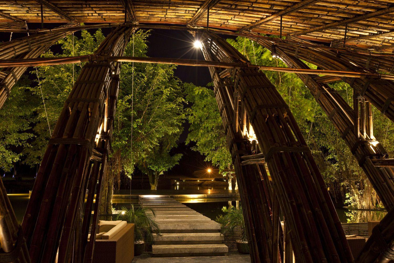 Bamboo Wing restaurant in Vietnam exemplifies the merits of steel ...