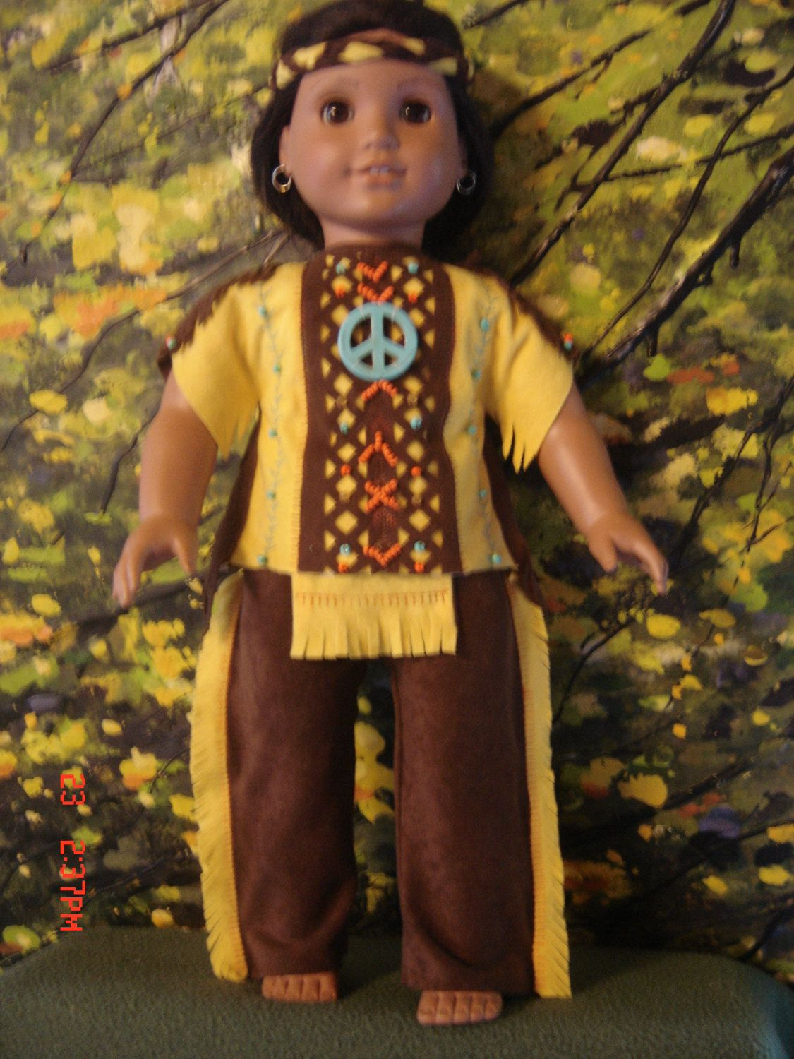 1  RESERVED original design by granma fran american girl boys indian costume a…