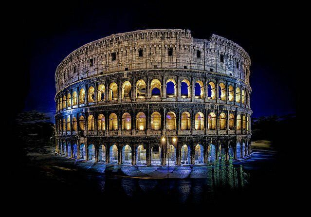 colosseum,Roma,Italy.