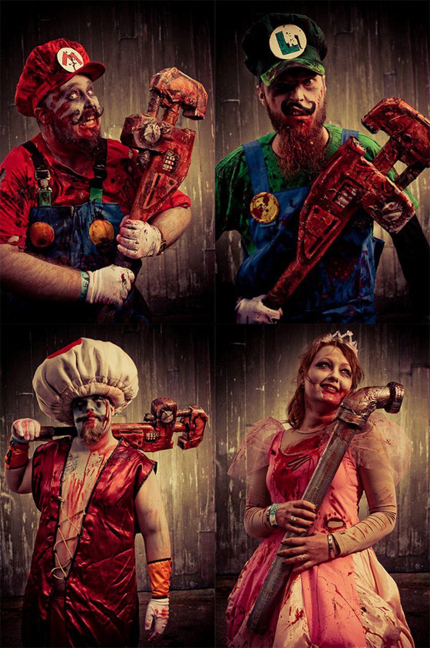 6425cf359a8 Nintendo goes Zombie Apocalypse. | Brilliant | Zombie cosplay, Super ...