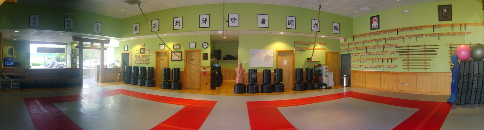 Chapel Hill Quest Center This Is Actually Where My First Lesson On My Martial Arts Journey Was Taken It Is Also One Dojo Design Martial Arts Gym Martial Arts