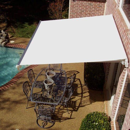 awntech mm10 k maui manual retractable awning by awntech