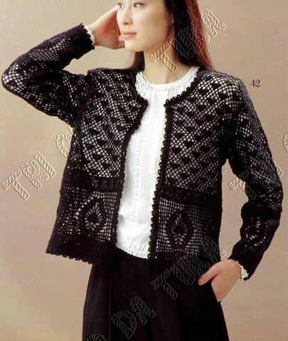 modele de veste femme au crochet