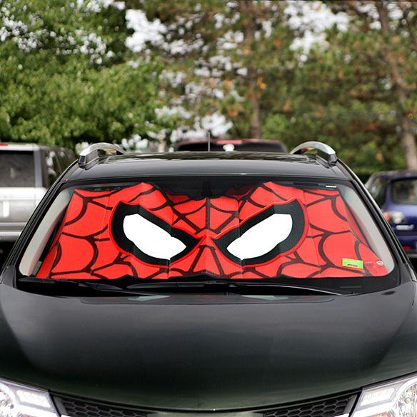 Spider-Man Car Windshield Sunshade 1551fc464bc