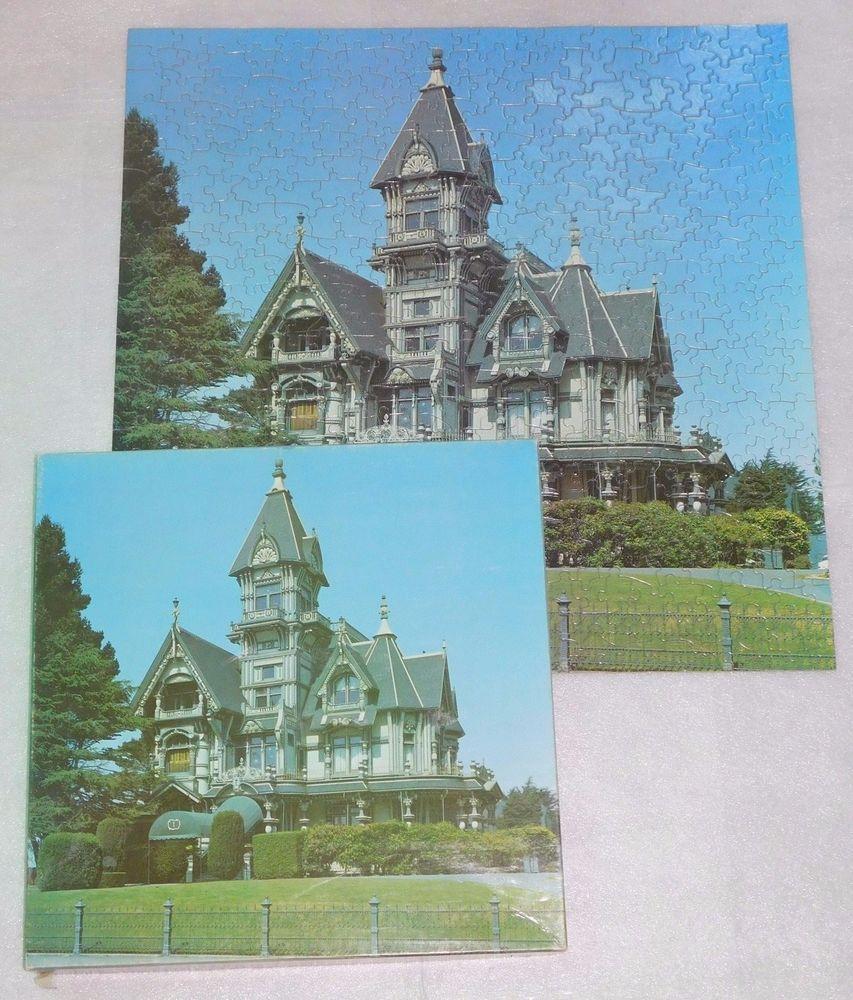 Carson Mansion Eureka California Jigsaw Puzzle 500 Pieces 20 X 20