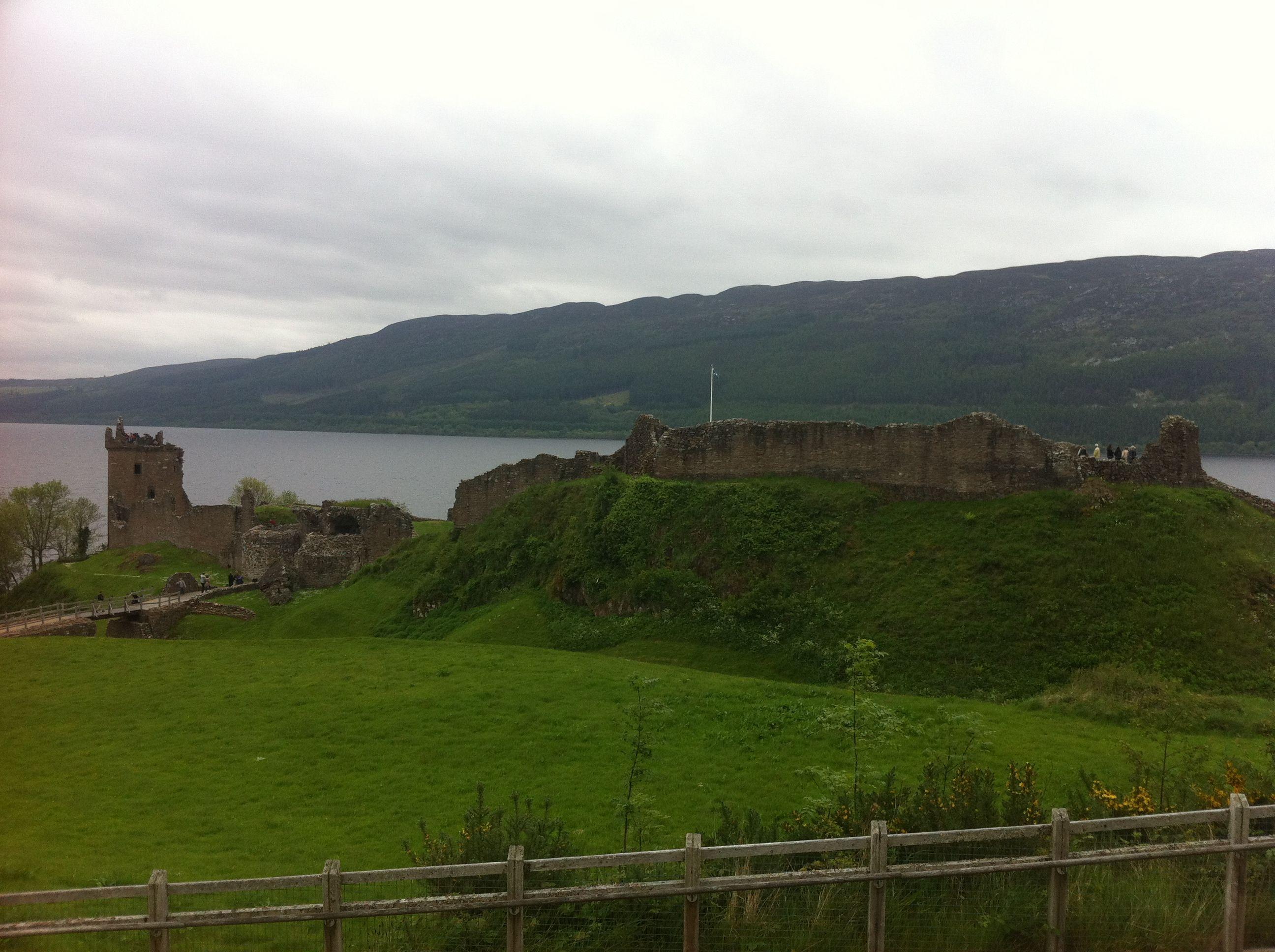 Urquhart Castle and Culloden Battlefield, Inverness Scotland