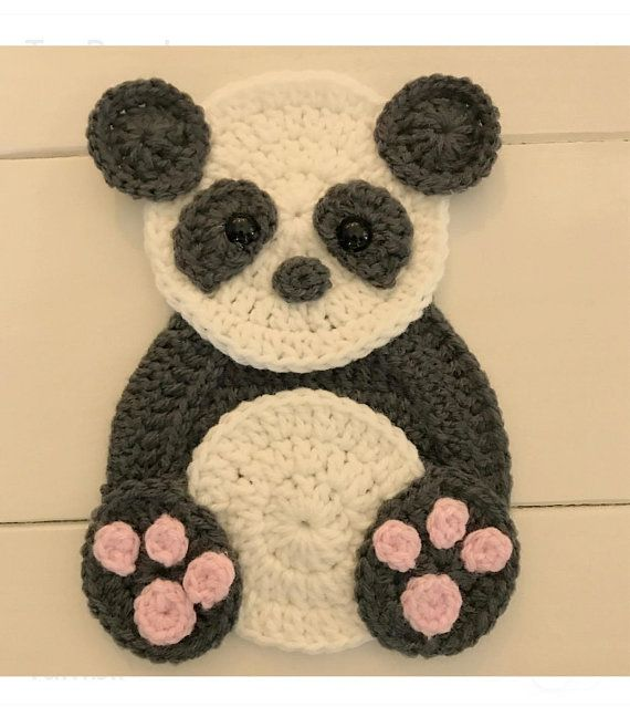 Crochet Pattern Instant Pdf Download Panda Pattern Crochet