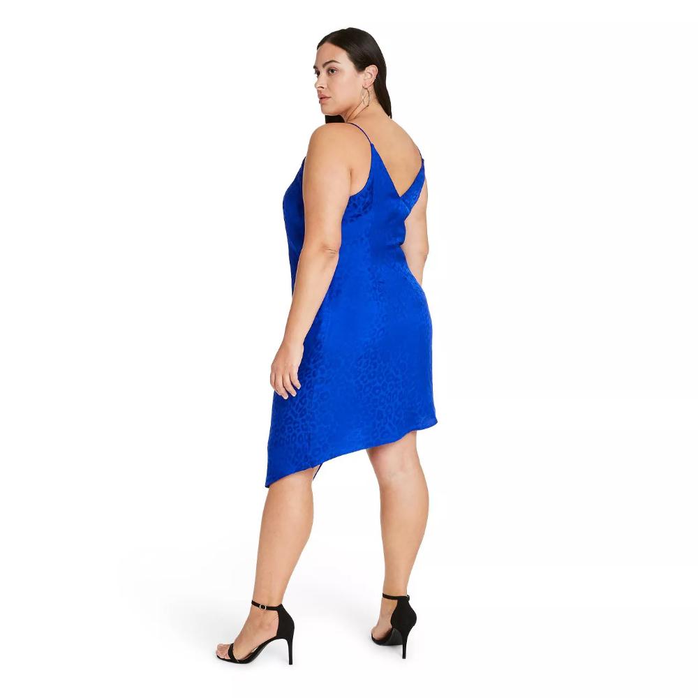 Women S Leopard Print Wrap Slip Dress Cushnie For Target Regular Plus Royal Blue Target Womens Sleeveless Dress Slip Dress Dresses [ 1000 x 1000 Pixel ]