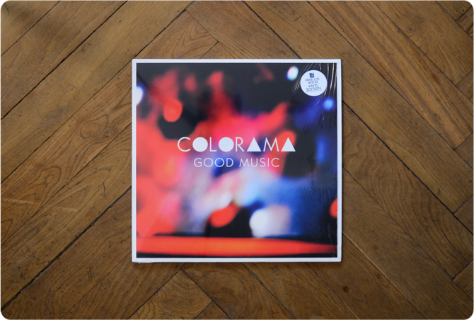 Record cover art - Colorama - Good Music (1)