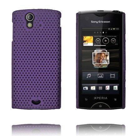 Atomic (Violetti) Sony Ericsson Xperia Ray Suojakuori