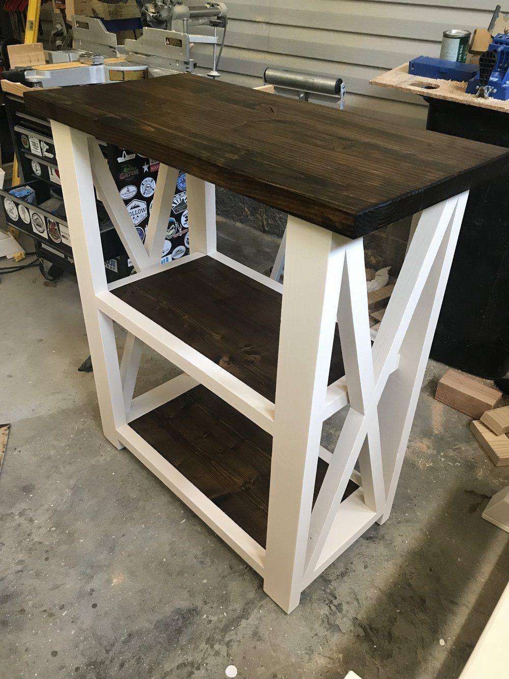 Diy farmhouse console table video farmhouse furniture